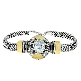 Silver and Gold Bracelet