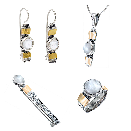 Silver and Gold Set